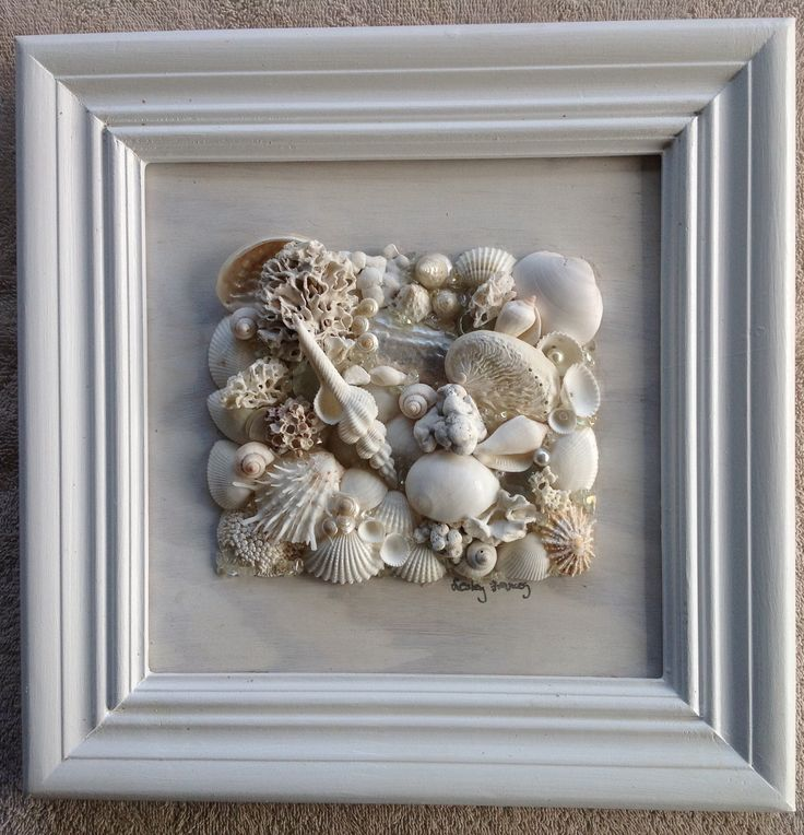 Shell art by Les Wheelan