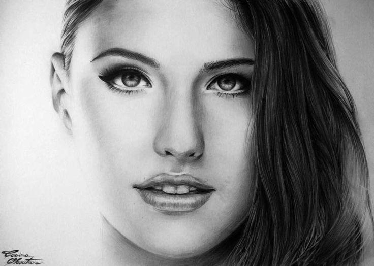 Antonia - Desen în Creion de Corina Olosutean // Antonia - Pencil Drawing by Corina Olosutean