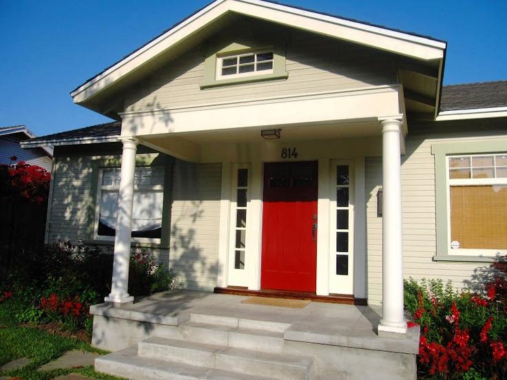 HOUSE: A VENICE BEACH CRAFTSMAN COTTAGE GOES INTERNATIONAL. Craftsman  Exterior ColorsExterior ...