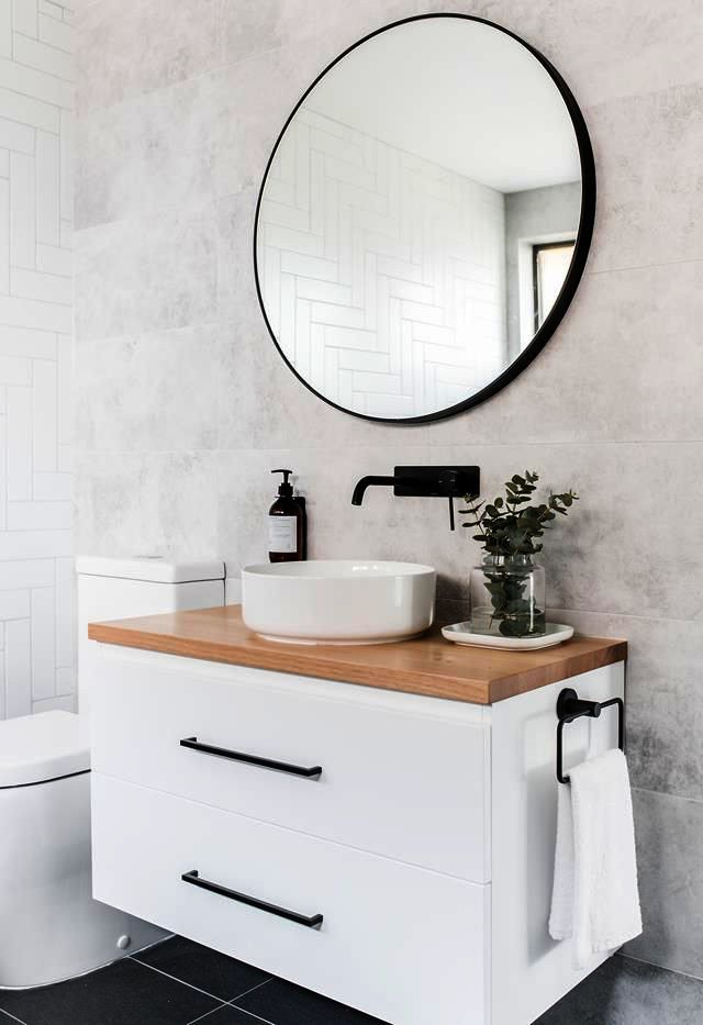 Bathroom Vanities Brooklyn his Bathroom Mirrors Stores ...