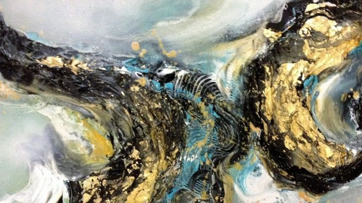 Golden Dream - Einfach Malen - Abstrakt - Easy Painting - Abstract