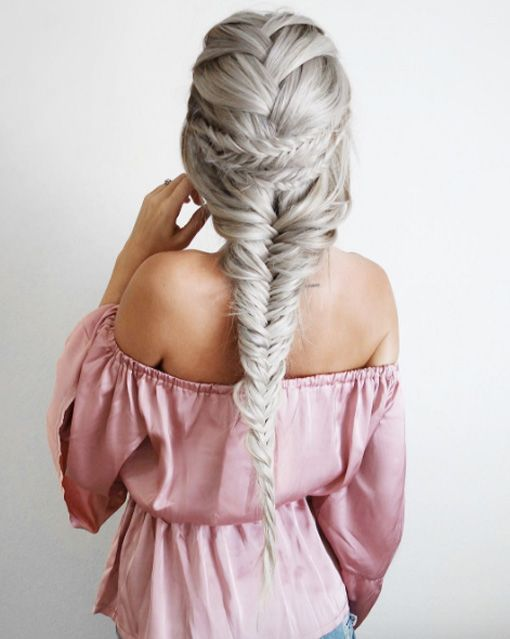Pancaked braid by Emily Rose Hannon