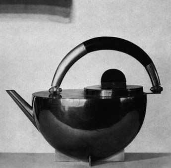 """I have always wanted one of these Bauhaus teapots. They are """"price on request"""" from the museum in Berlin, though. Eep."""