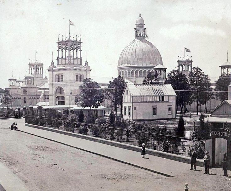 Garden Palace Sydney 1879