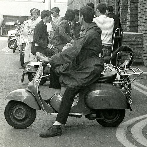 Mods on scooters in London, 1979 | Flickr - Photo Sharing!