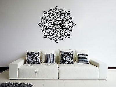 ik358-Wall-Decal-Sticker-mandala-hamsa-hand-Buddha-Hindu-Hinduism-Ornament