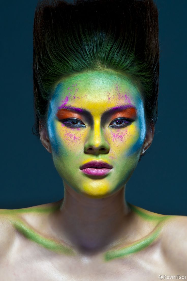 geometric makeup - Google Search
