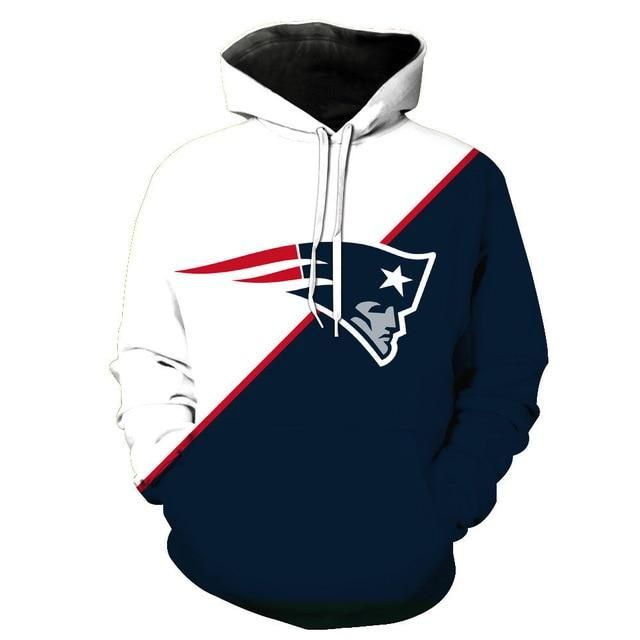 Nfl Football Hoodie 3d Hooded New England Patriots Sweatshirt Jacket Gift For Fan Sweatshirt Ge New England Patriots Sweatshirt Patriots Sweatshirt Nfl Outfits