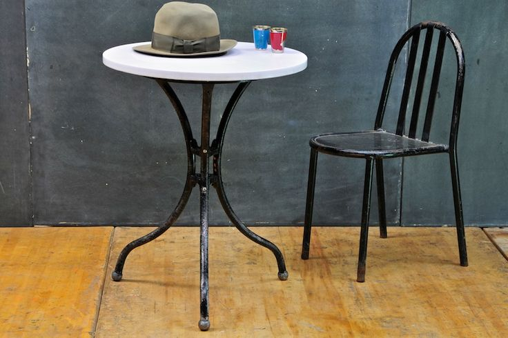Vitrolite Lavender Cafe Parlour Table : Modernfifty 20th Century Vintage Furnishings & Design