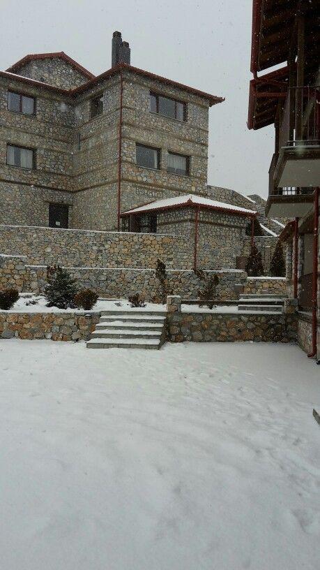 #kaimaktsalan #snow