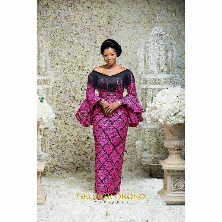 Already have a bridal crush @aisha_pariya Photo: @georgeokoroweddings #GeorgeOkoroWeddings #LuxuryEdition Floral set design by @bluevelvetmarquee MUA @oshewabeauty