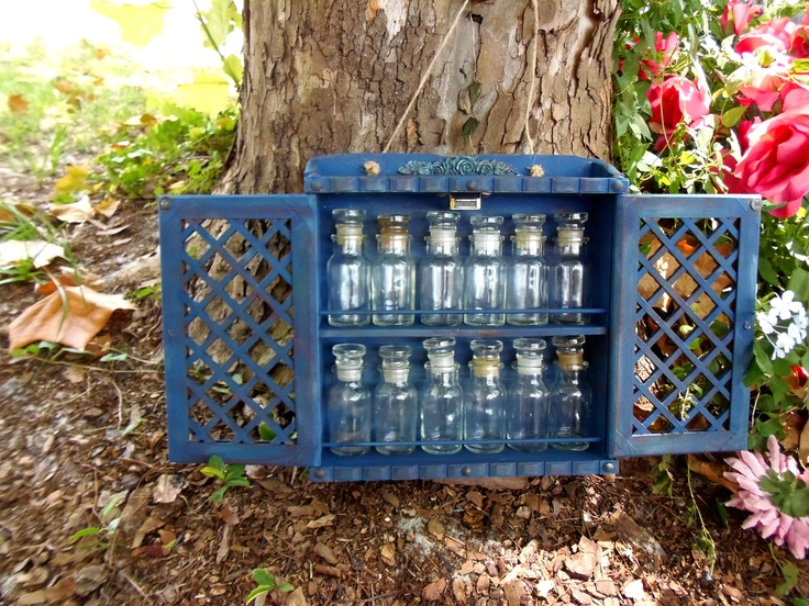Vintage Spice Rack Country Spice Rack Cottage by sienaslew on Etsy, $32.00