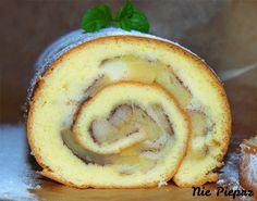 Ekspresowa rolada biszkoptowa z jabłkami, której przygotowanie zajmuje kilka chwil. Puszysta i delikatna rolada jako szybki deser dla nadchodzących gości.