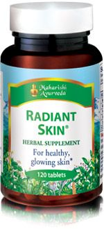 Radiant Skin. Detox & Cleanse supplement from vpk, by Maharishi Ayurveda.
