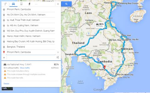 Our final itinerary suggestion: 10 days in Vietnam with extra 4 days in Bangkok.