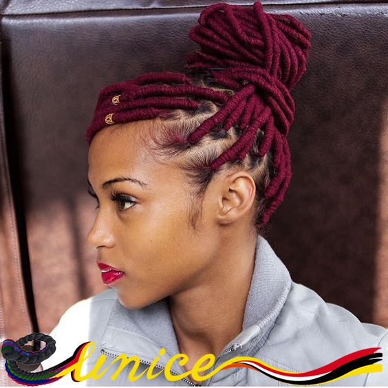 Short Dreads Crochet Braids Hair Dredlocks Extensions