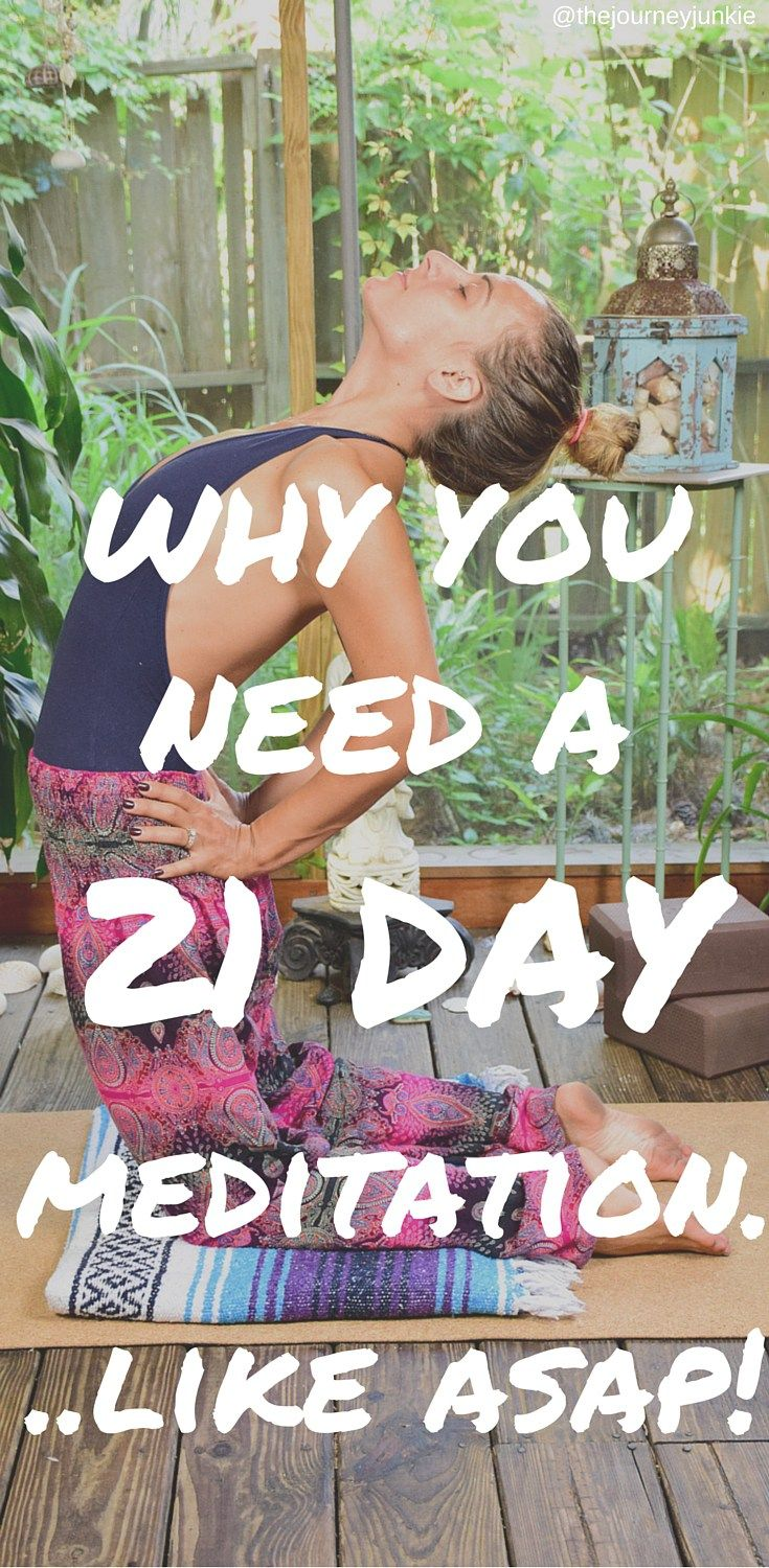 It's time for you to shine, kick distraction's ass, learn new skills, and embody healthy habits. It's time for a 21 Day Guided Meditation....Like Right Now!