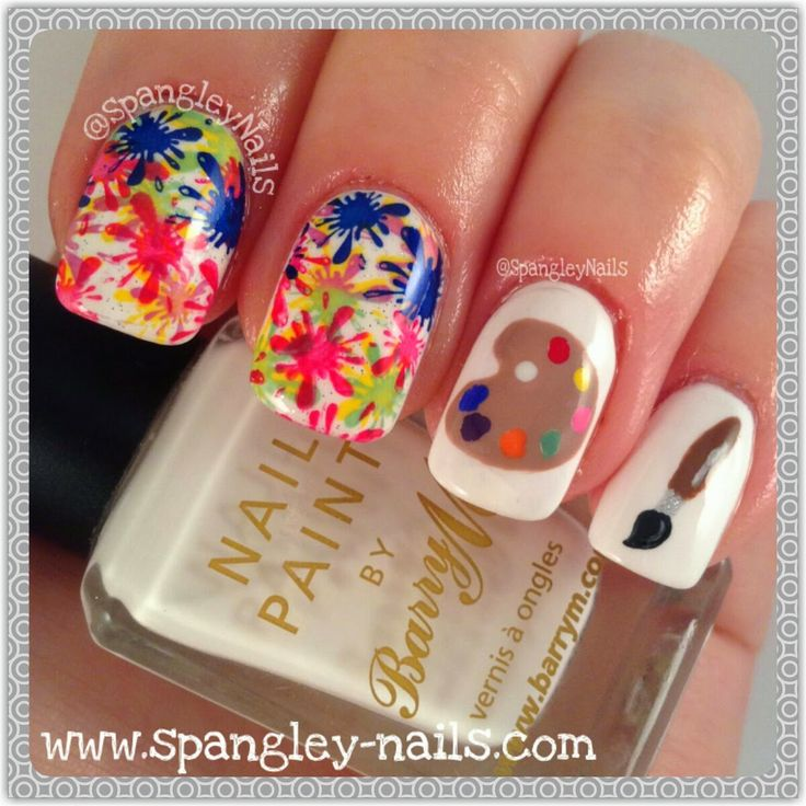 Nail ART - Get it? ;-) #nailitdaily