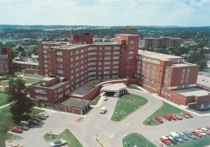 K-W Hospital in the early 1970's...I was born here and so was my youngest daughter!