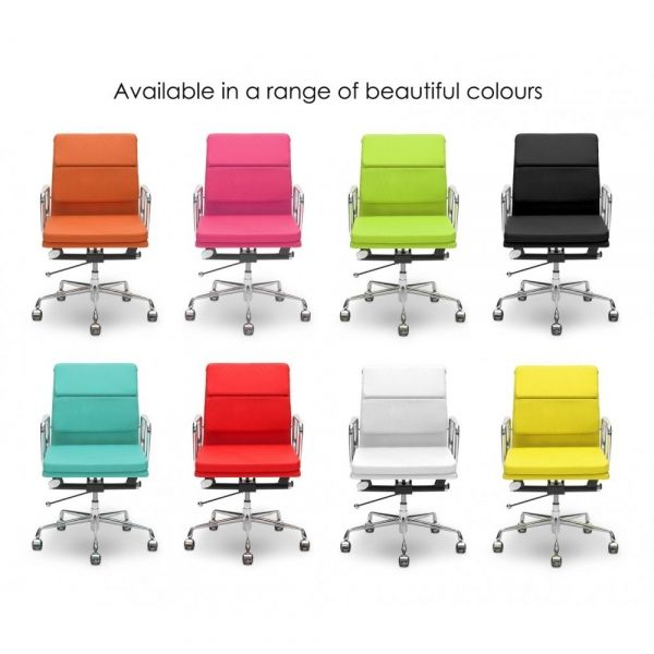 Eames Pink Short Back Soft Pad Style Executive Office Chair19 best Office Furniture images on Pinterest   Office furniture  . Eames White Soft Pad Style Executive Office Chair. Home Design Ideas