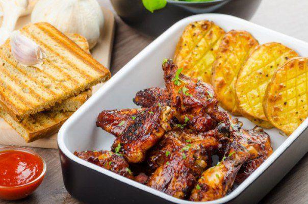 Рецепты для пикника: Куриные крылышки в имбирно-медовом маринаде