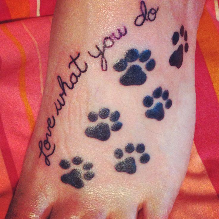 My Vet Tech tattoo. Love what you do!!