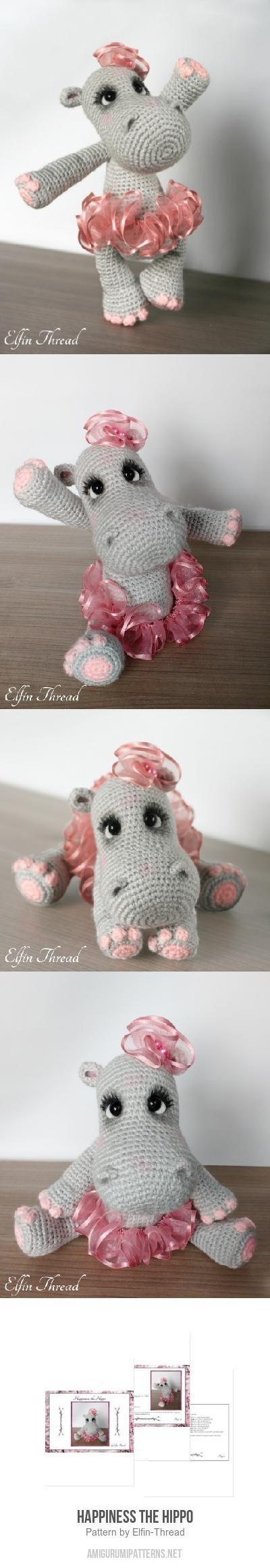 Happiness The Hippo Amigurumi Pattern