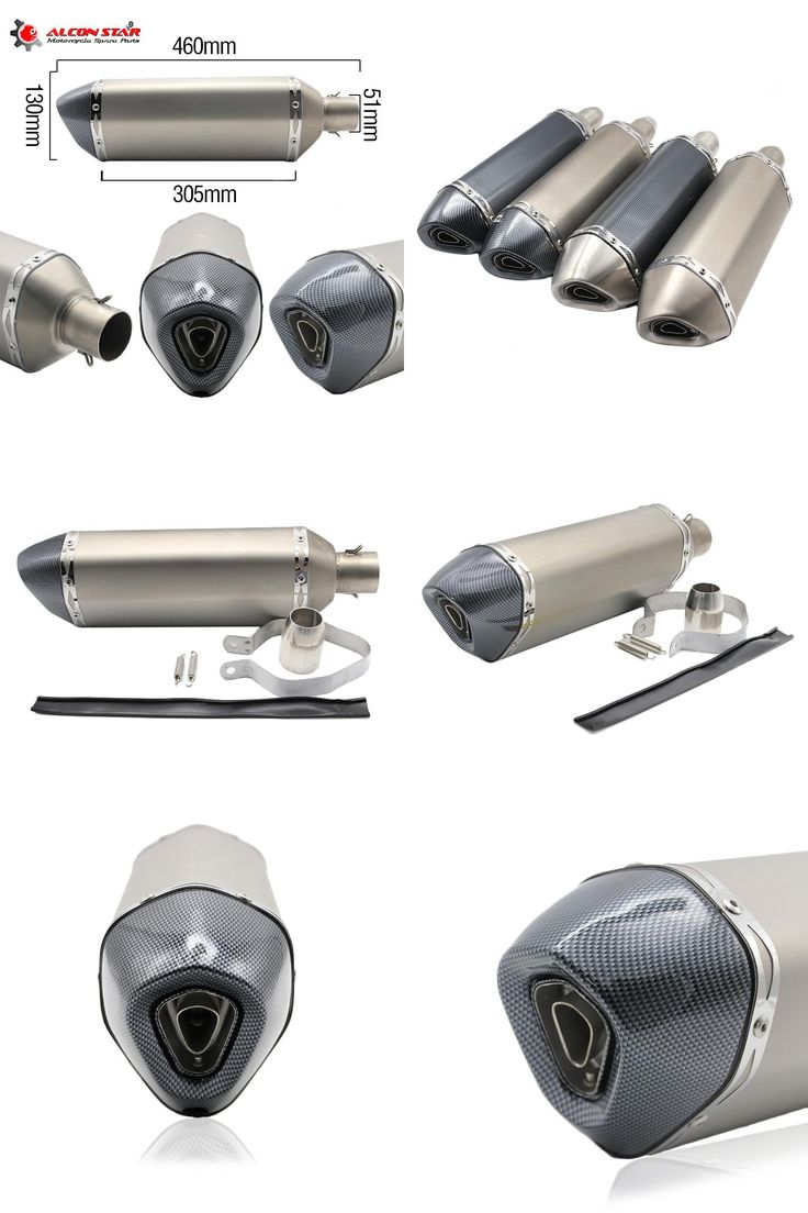 visit to buy alconstar 51mm motocross universal motorcycle exhaust modified scooter exhaust muffler