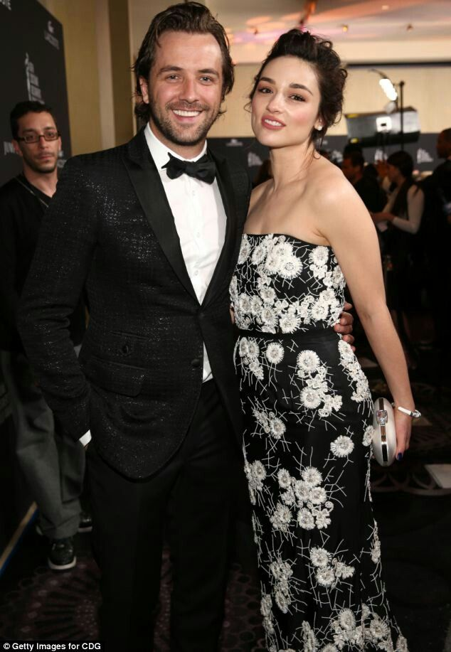 The adorable couple! Crystal Reed & Darren Mcmullen