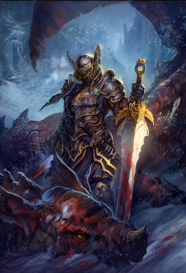 Dragon Slayer (updated) by dleoblack on DeviantArt