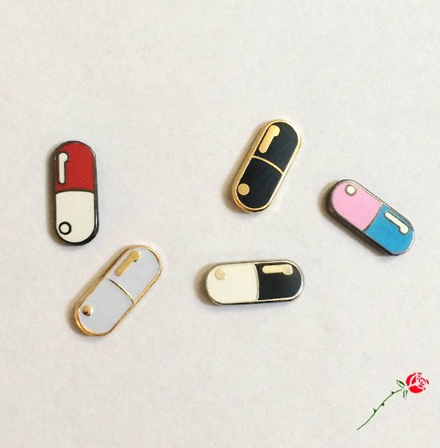 Capsule Collection All 5 Color variants of our Capsule Pins as a collection! $1 off of each for scooping them all together. Each Capsule Collection...