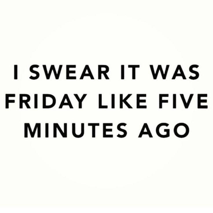 Friday Sunday night