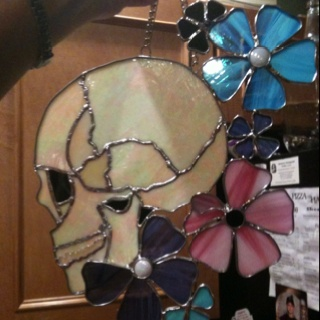 Stained Glass Skull Craft Ideas Pinterest Stained