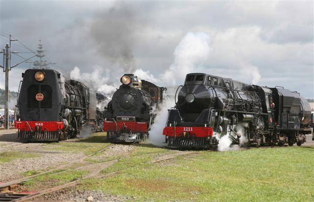 Mainline Steam Heritage Trust, New Zealand. Home.