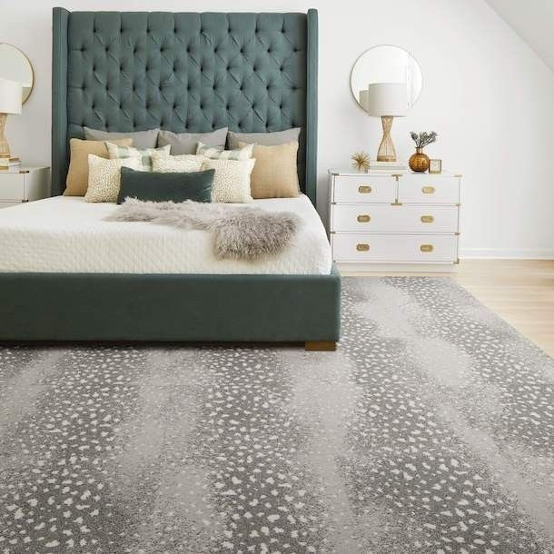Doe Re Mi Antelope Print Spotted Area Rugs Carpet Tiles By Flor
