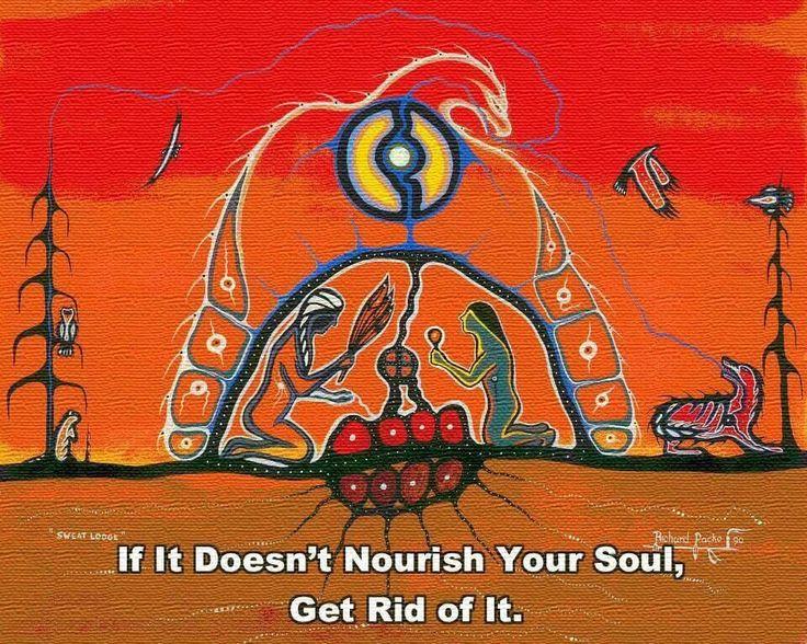 The soul speaks loudest.