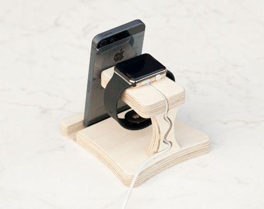 Tablet-Zubehör - Apple, iphone, ipad, Tech-Trends, Holz, Geschenk - ein Designerstück von TreeSky bei DaWanda