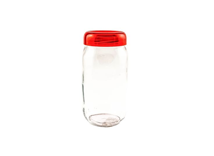 Buy #Renga Round Storage Jar With Lid - Storage Jars and more #Homeware, #Kitchenware and #Cookware products at Popat Stores. #StorageJars