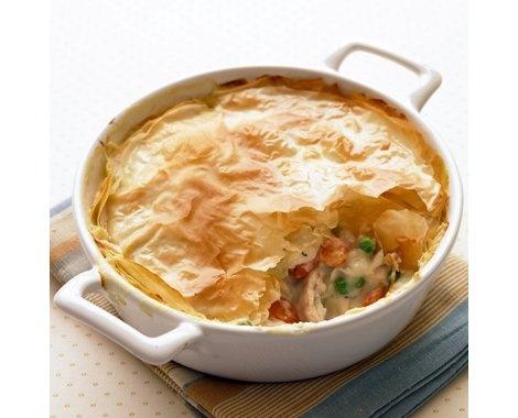 Lighter Chicken Potpie Recipe | Recipes | Pinterest