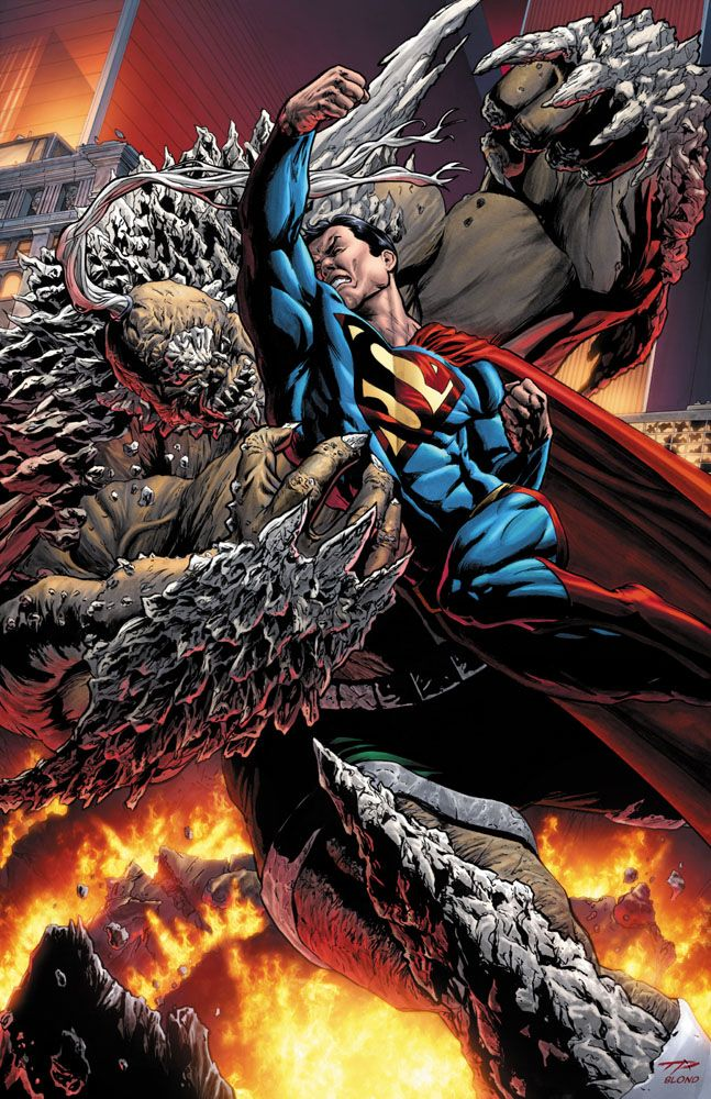 The Man of Steel Vs Doomsday, Finally Coming to the Big Screen!?