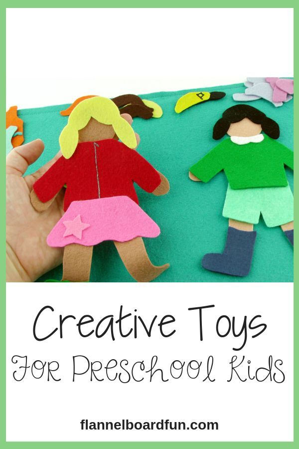 Felt Board Paper Dolls Clothes Set For Preschool Or Kindergarten Child