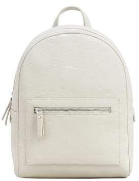 #backpack #pebbled #outlet #women #mango #zipZip pebbled backpack –