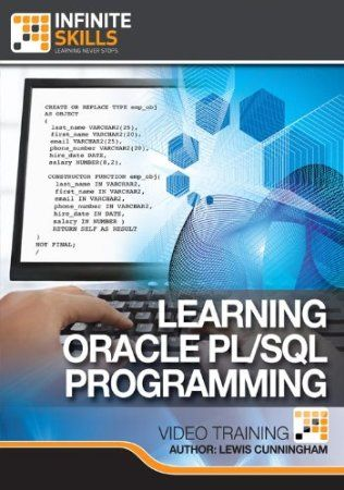 In this training course by Lewis Cunningham on Oracle PL/SQL Programming, you will learn how to utilize the procedural language extension for SQL in the Oracle relational database. Lewis Cunningham is one of an elite group of Oracle ACE Directors, and a certified PL/SQL developer. With over 15 years experience modelling, developing and architecting Oracle databases, you are learning from one of the best in the industry. Price: $39.98