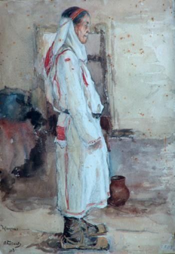 Бычков Вячеслав Павлович (1877 - 1954) Чувашка.
