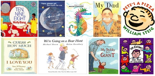 20 children's books featuring fathers...