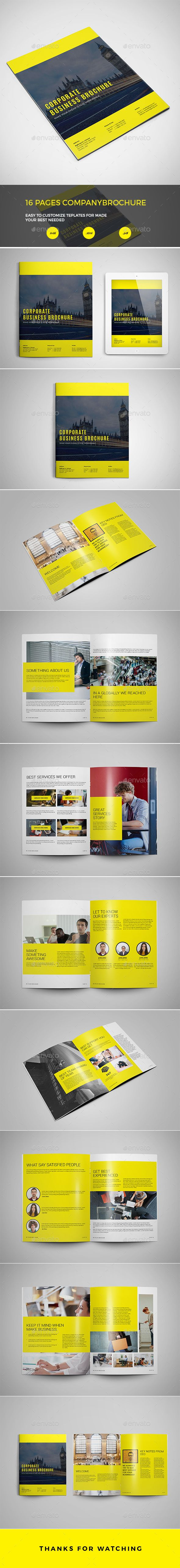 Brochure - Brochures Print Templates Clean & Creative Brochure is ideal for multipurpose corporate business, quality & clean design, professional and modern brochure presentation template. Just drop in your own images and texts, and it's ready to Print. this Brochure is loaded with paragraph/character styles for easy customization. Easy to add more pages Easy to Customize Stylish Layout Paragraph Styles Character Styles Print-ready with bleed Auto page number Free fonts link Included PDF Preview