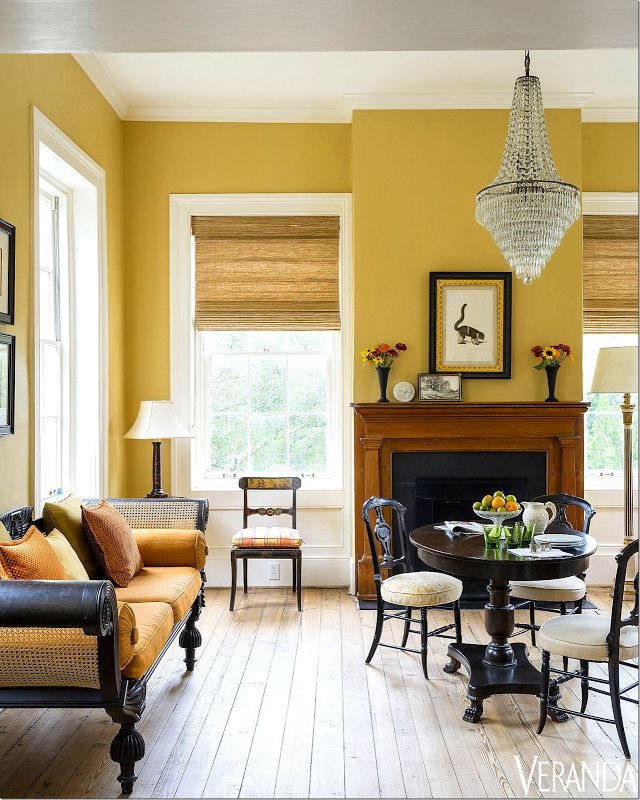 Veranda May June 2016 Preservation Issue Summer Home Beaufort SC Parlor.  Image. Mustard WallsMustard Yellow PaintsMustard BedroomBeaufort ...
