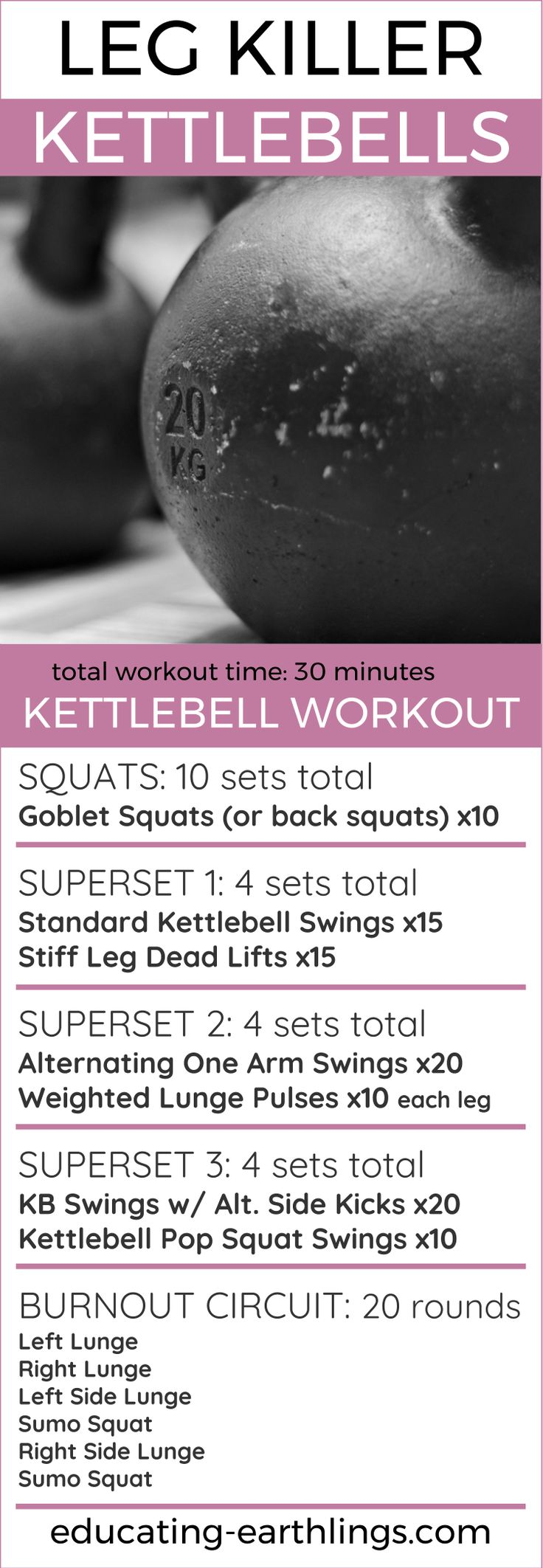 leg killer kettlebell workout, leg workout, at home workout, women's fitness, kettlebell exercises, weight loss workouts, high intensity workout, HIIT workout, HIIT kettlebell workout, HIIT leg workout, Bodyweight workouts, muscle building, bodybuilding, vegan bodybuilding - Tap the link to shop on our official online store! You can also join our affiliate and/or rewards programs for FREE!