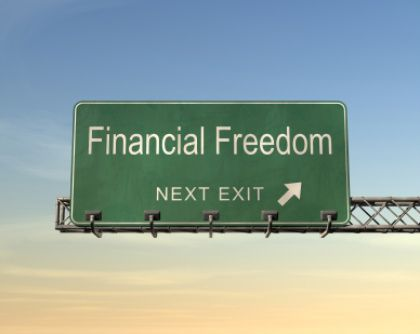 Financial freedom.....not with this, just using the pic