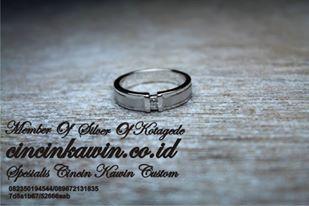 cincin kawin palladium 95